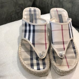 Burberry sandals 👡 size 38